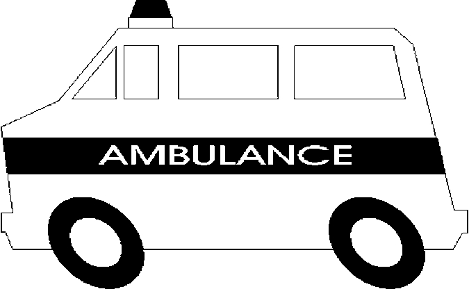 Coloriage ambulances 2 - Coloriage ambulance ...