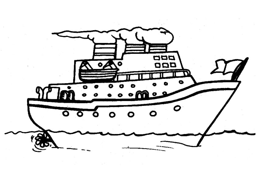 Coloriage bateau 12 - Dessin de bateau ...