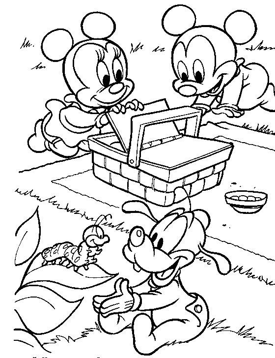 Coloriage Bebe Disney 5 Lescoloriages Net
