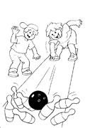 Coloriages bowling dessins imprimer et colorier pour enfants - Bowling dessin ...