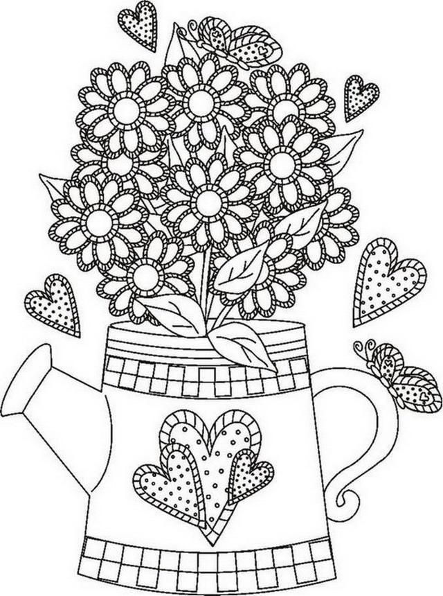 Coloriage printemps 205 - Dessin de printemps a imprimer ...