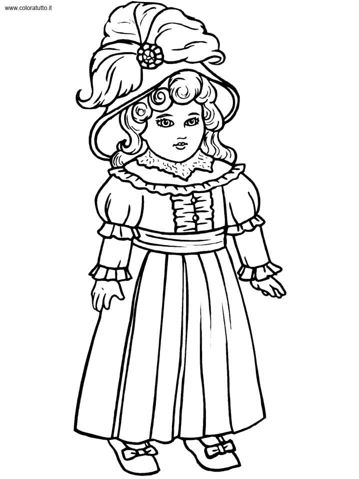 Coloriage robe de princesse 1 - Coloriage robe de princesse ...