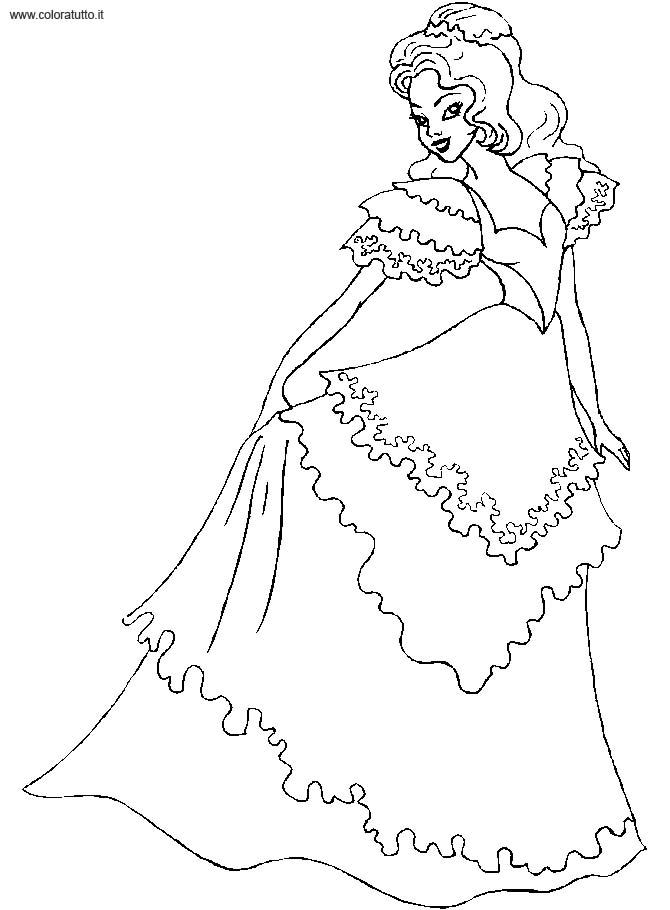 Robe de princesse dessin - Dessin de robe de princesse ...